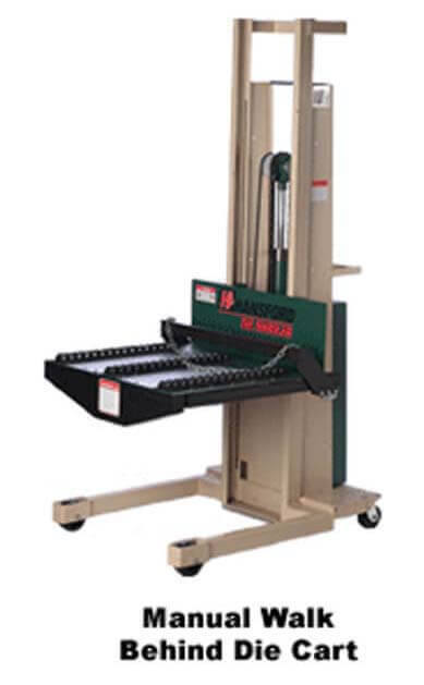 manual die cart