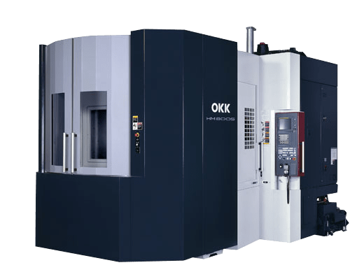 precision machining OKK corp hm600s