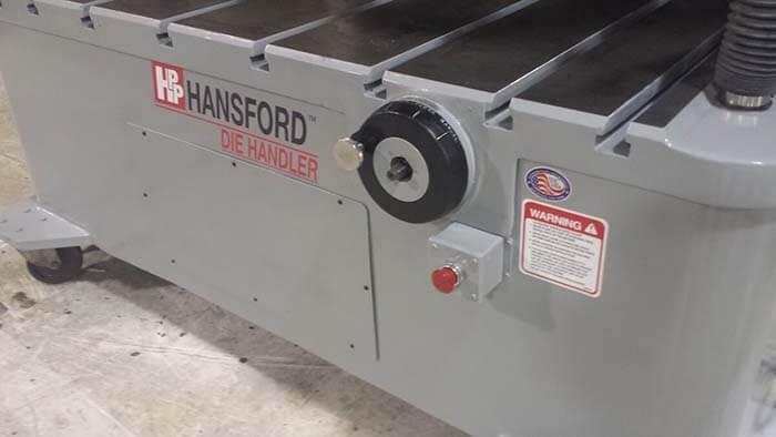 Die Handler Hansford Front